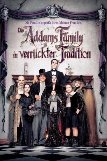 Die Addams Family verrückter Tradition